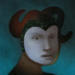 """portrait,o.t."" 40x50 cm"