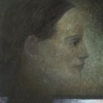 """anja im profil"" 24x30 cm"