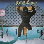 """""""die gefangennahme des king kong"""" 88x55 cm"""